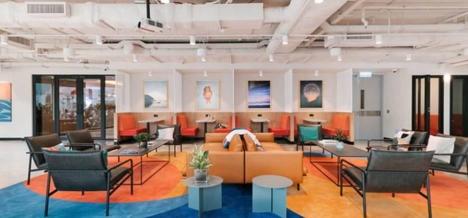 Centro de negocios con coworking Madrid WeWork Goya 36