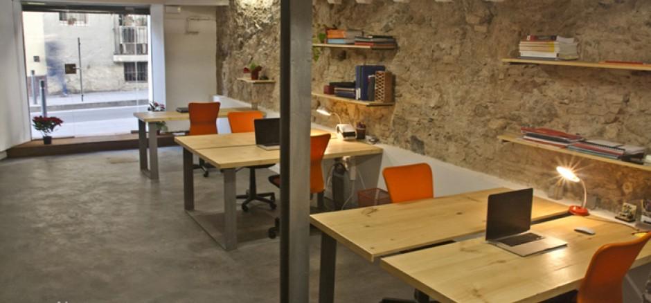 Studio eilon sosarquitectura oficina compartida en for Oficina compartida barcelona