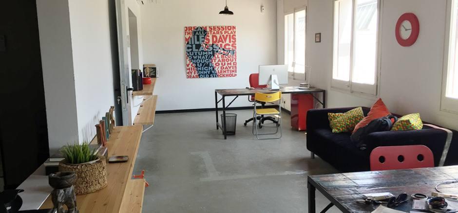 Oficina compartida Barcelona Coworking Sant Andreu