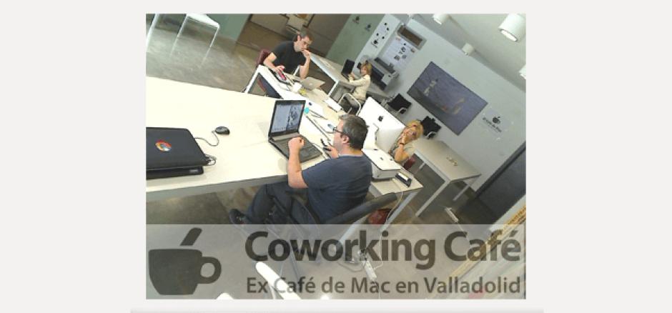 Coworking a fondo: CoworkingCafé, Ex Café de Mac, Valladolid